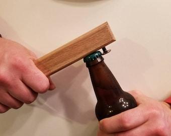 Myrtle wood bottle opener