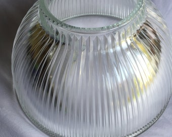 Glass lamp shade etsy 1930s vintage glass lamp shade aloadofball Gallery