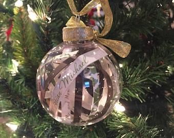 Invitation Keepsake Ornament