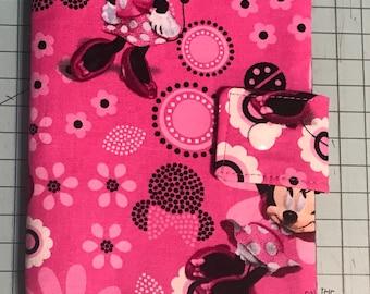 Play Pack Activity Case / Travel Activity Pouch / Marker Pencil Pouch / Crayon Case / Pencil Pouch - Minnie Mouse Bowtique