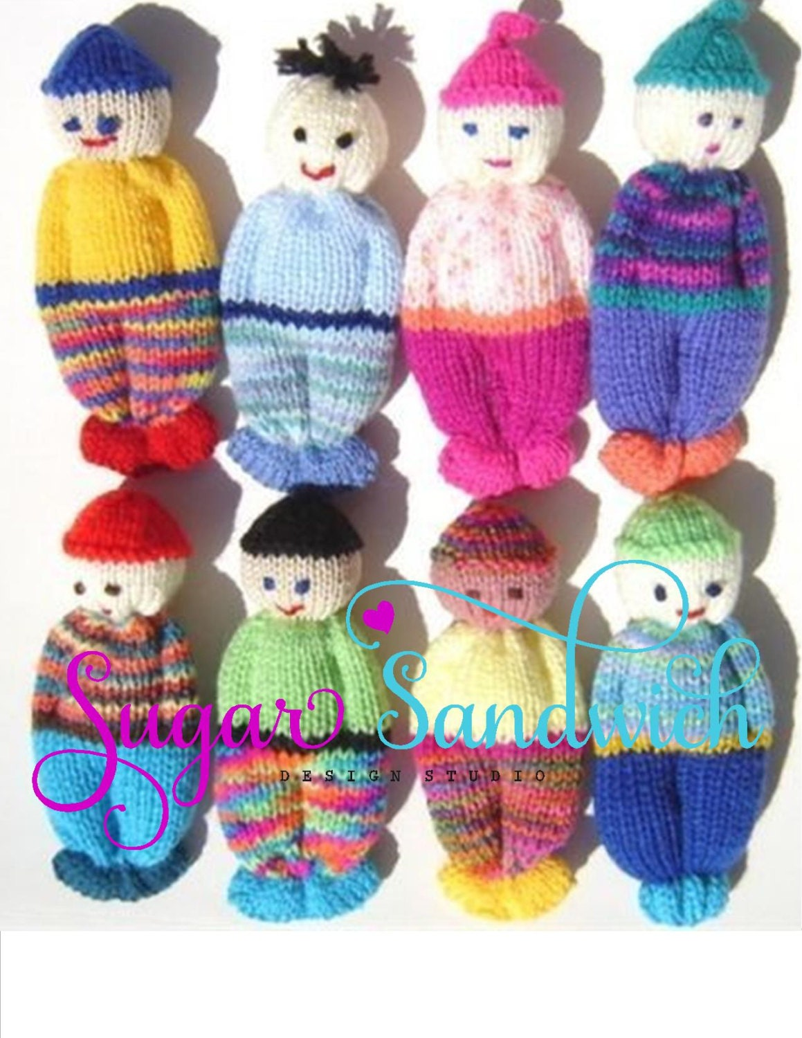 Comfort doll knitting pattern easy to make 5 inch knitted zoom bankloansurffo Choice Image
