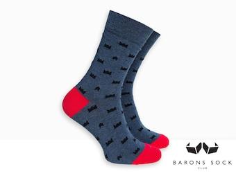Men Dress Socks | King Crown Socks | Dress Socks | Socks for Men | Groom Socks | Groomsmen Socks | Wedding Socks | Cotton Socks | Socks