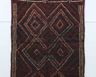 Azilal rug in a great condition and so warm to look at.