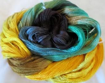 Hand dyed Tencel Yarn - 900 yds. Lace Wt. Tencel Yarn  THAILAND