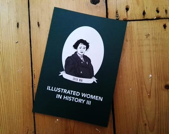 Illustrated Women in History zine issue III submissions diy publishing feminist comp zine