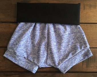 Heather Blue Shorties