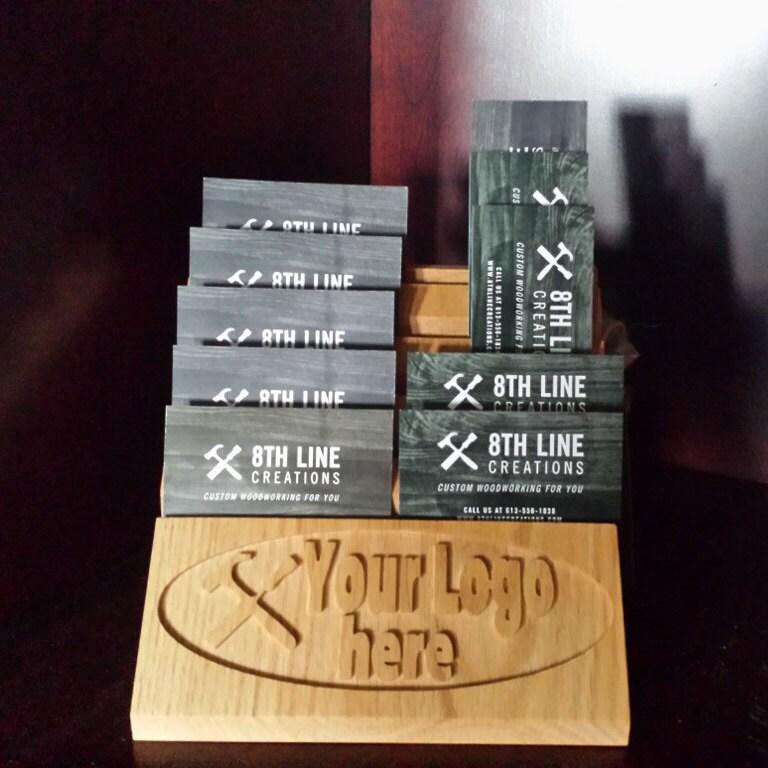 Multiple Business Card Holder Wood Business Card Holder