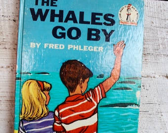 The Whales Go By Dr. Seuss I Can Read Book Vintage Childrens Book Collectible First Edition 1959 Beginner Books Bedtime Story Gifts Children