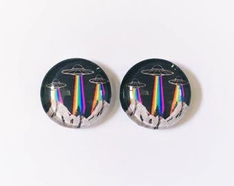 The 'Stranger Things' Glass Earring Studs