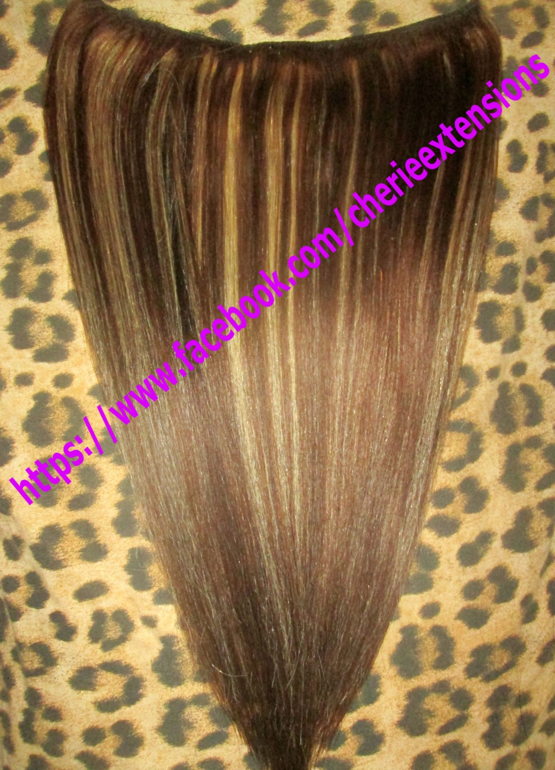 Balayage Dip Dye 8a Remy Human Hair Extensions Invisible