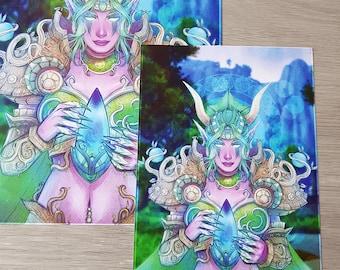 Ysera A5 art print (PRE-ORDER)