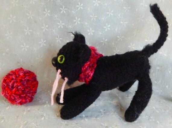 Amigurumi Gato Negro : Amigurumi gato negro gato negro stuffie réplica del gato del