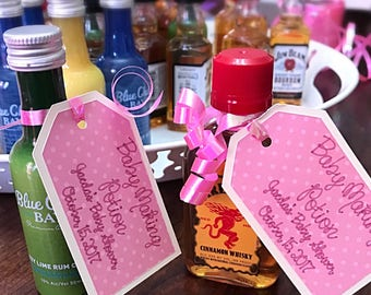 Baby Making Potion • Baby Shower Favor Tag • Baby Shower Gift Tag • Tags For Baby Shower • Wine Bottle Tag