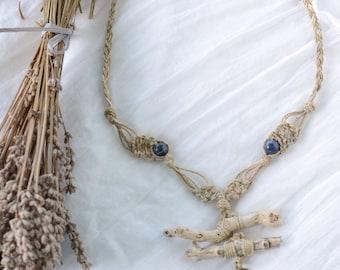 Poem Natural Driftwood Necklace, Natural unique jewelry, Natural unique necklaces, Natural necklaces, Driftwood Jewelry, Driftwood necklace