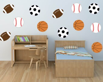 Beautiful Sports Wall Decal   Soccer Decal   Football Decal   Baseball Decal    Basketball Decal