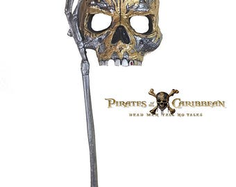 Captain Jack Sparrow Halloween Masquerade Mask Adult Pirates of the Caribbean
