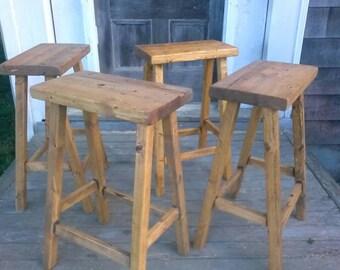 Rustic Bar Stools  (Set of 2)