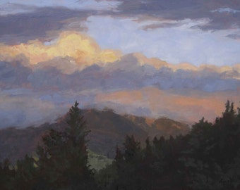 Baldy from Red River (Storm Moving Out) - New Mexico - Limited Edition Fine Art Landscape Print