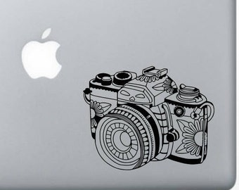 Zentagle Camera, Camera decal, Photography decal, Car decal, Window decal, Laptop Decal, Tablet decal, Photographer gift