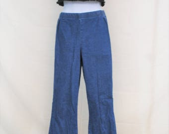 VTG Straight Wide Leg Denim Pants | High Waisted Vintage Jeans