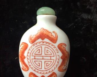 Small Ceramic Snuff/Perfume Jar