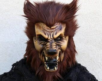 Timber Wolf Mask