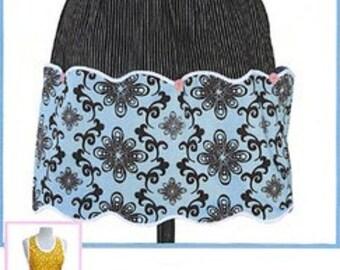 Polka Dot Pantry Apron Pattern by Apron Lady Designs