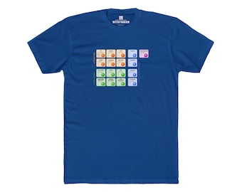 The Standard Model Particle Physics T-Shirt