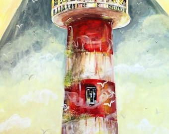 Dee & Dumb lighthouse Print