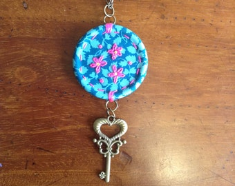 Embroidered Pendant