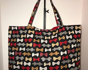 Bow tie Kitschy Tote