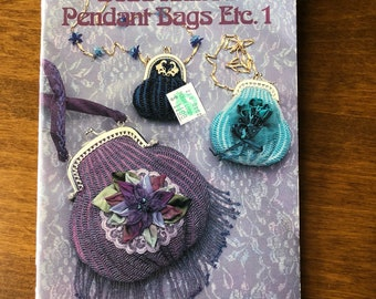 Bead Knitted Pendant Bags Etc. 1 by Theresa Williams instructions and Patterns Handbag Bag Lady Press