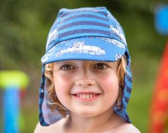 MBJM Pool Party Sun Hat PDF sewing pattern (Newborn - XL Adult)