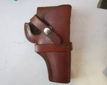 Vintage George Lawrence Challenger Holster Brown Leather 25 S, 85.