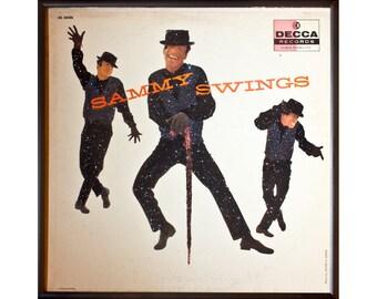Glittered Sammy Davis Jr Album