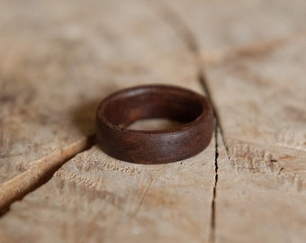 Solid Wood Ring - Rosewood Ring