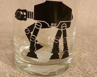 Star Wars AT-AT Rocks Glass