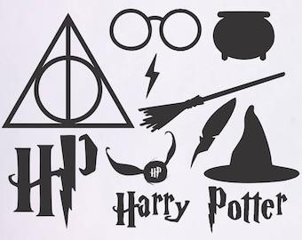 Harry Potter svg files, Harry Potter svg, Dementor svg, Harry svg, Potter svg, SVG files for Silhouette, files for cut, Harry Potter Svg
