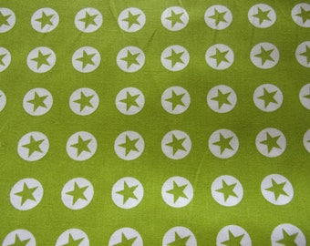 fabric star anise and white 50 * 70 cm