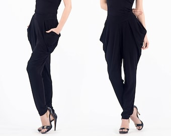 Pants, Wide leg pants, Black pants, Loose pants, Women pants, Womens pants, Women black pants, Cloth diaper pants, Loose fit pants