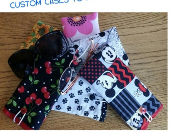 Matching eyeglasses cases to go with your bag order, This post is to add to your bag order only. You must purchase a bag to match.