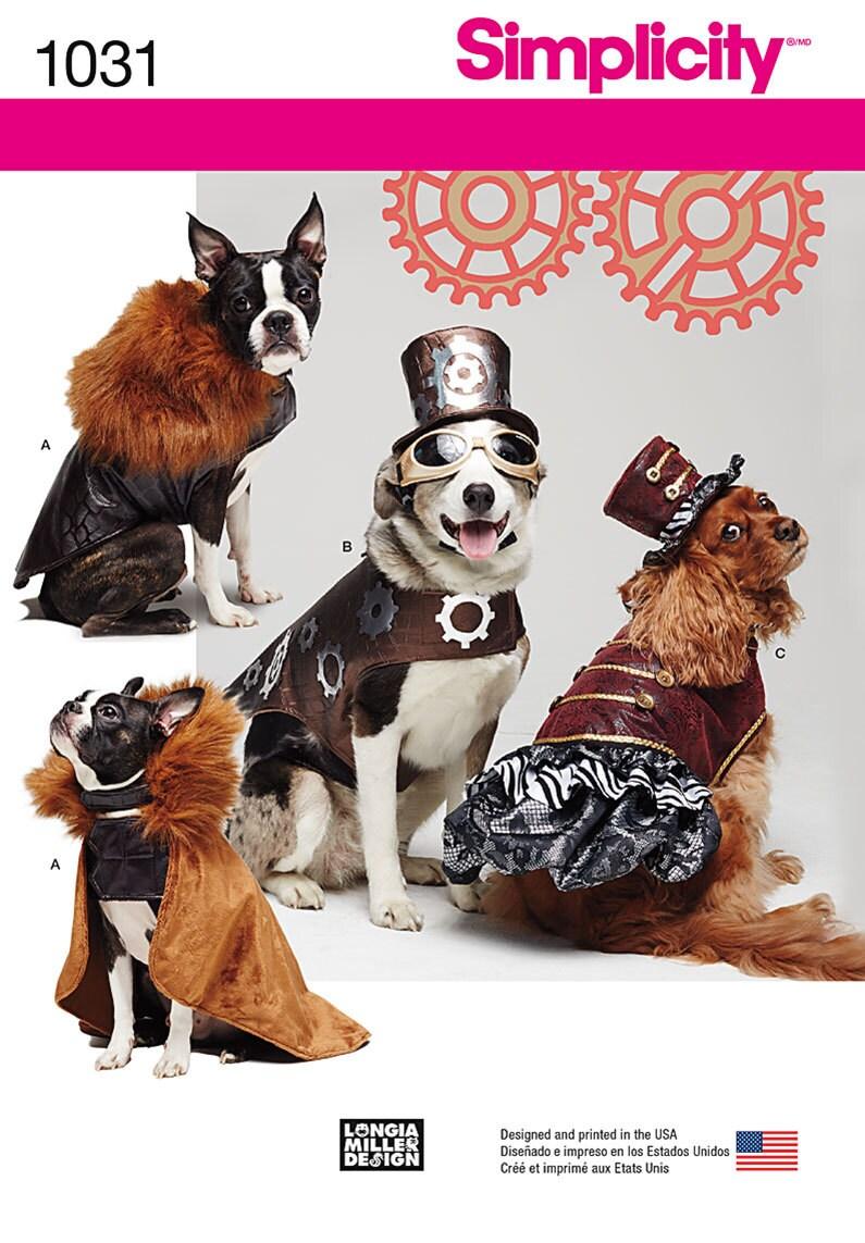Hund Kostüm Muster / Steampunk Outfits / Mantel Hüte / Smal