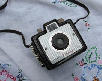 Camera - Brownie Holiday Camera - Kodak - Vintage
