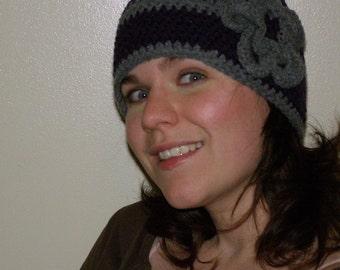 Crochet Hat Winter Warmer