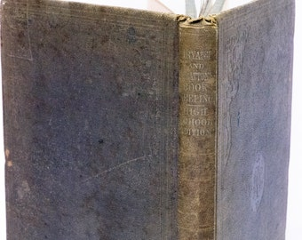 Antique 1860 Book - Bryant & Stratton's National Book-Keeping