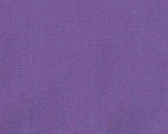 "45"" Purple Broadcloth Fabric - By The Yard"