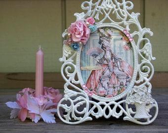 Marie Antoinette Shabby Chic Frame