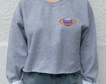 Galaxy Tumblr Planet, grunge Sweater, indie blogger