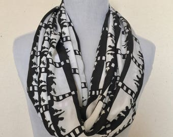 MST3K Mystery Science Theatre 3000 Infinity Scarf for Gals Extra Long