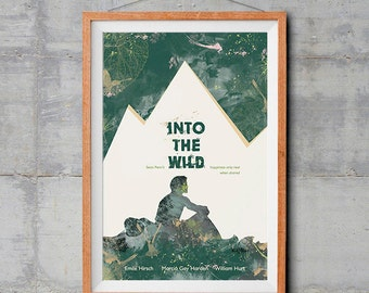 Into the Wild Alternative Movie Poster - Original Illustration